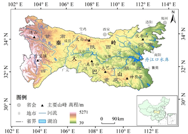The spatial-temporal variations of vegetation cover in Qinba Mountains from 1982-2015