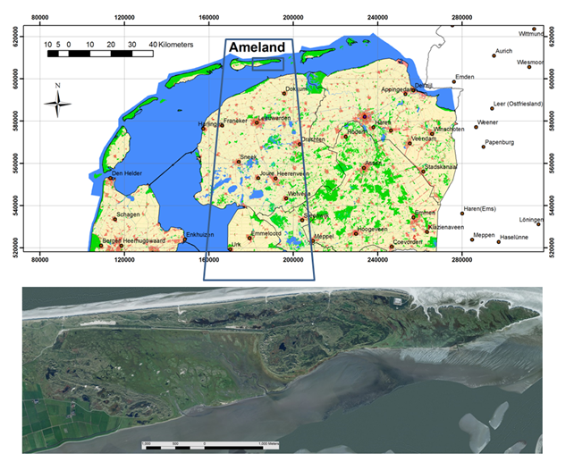 Exploiting low-cost and commonly shared aerial photographs and LiDAR data for detailed vegetation structure mapping of the Wadden Sea island of Ameland
