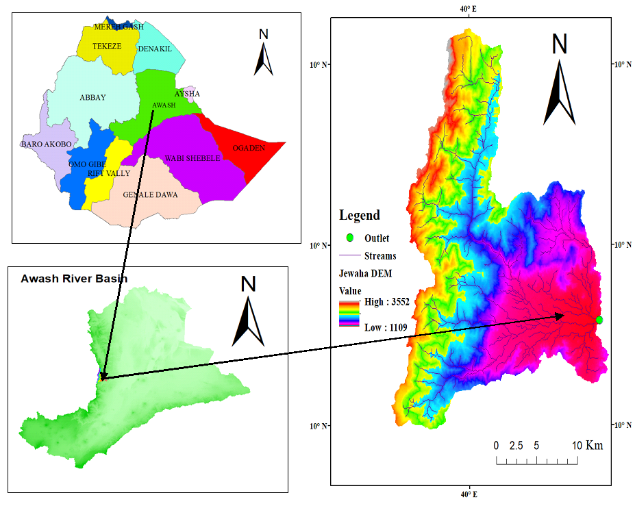DYNAMICS OF LAND USE/COVERCHANGE CASE STUDY ON JEWAHA CATCHMENT NORTH EASTERN, ETHIOPIA