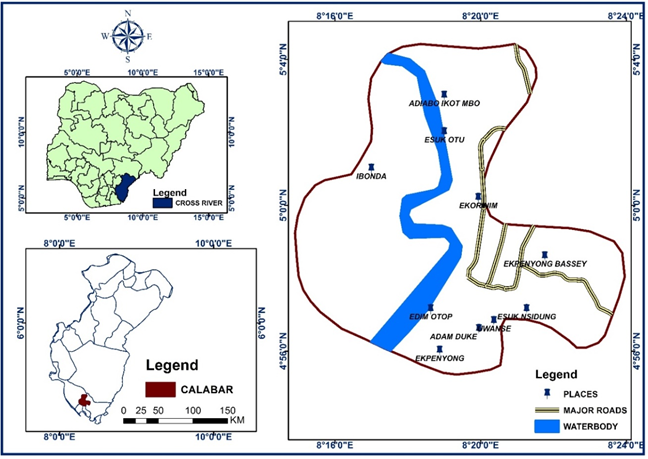 Landslide susceptibility assessment of Calabar, Nigeria using Geotechnical, Remote Sensing and Multi-Criteria Decision Analysis: Implications for urban planning and development