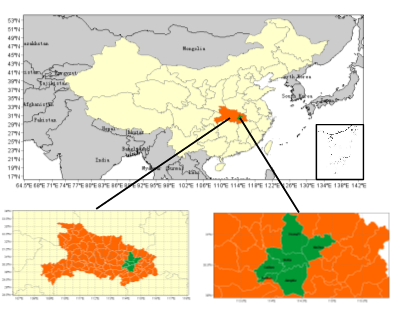 The Analysis of the Sedimentation Regularity and the Potential Source Area of the Black Carbon Aerosol in Wuhan City of the Middle Yangtze River